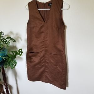 Mossimo Faux Suede Dress